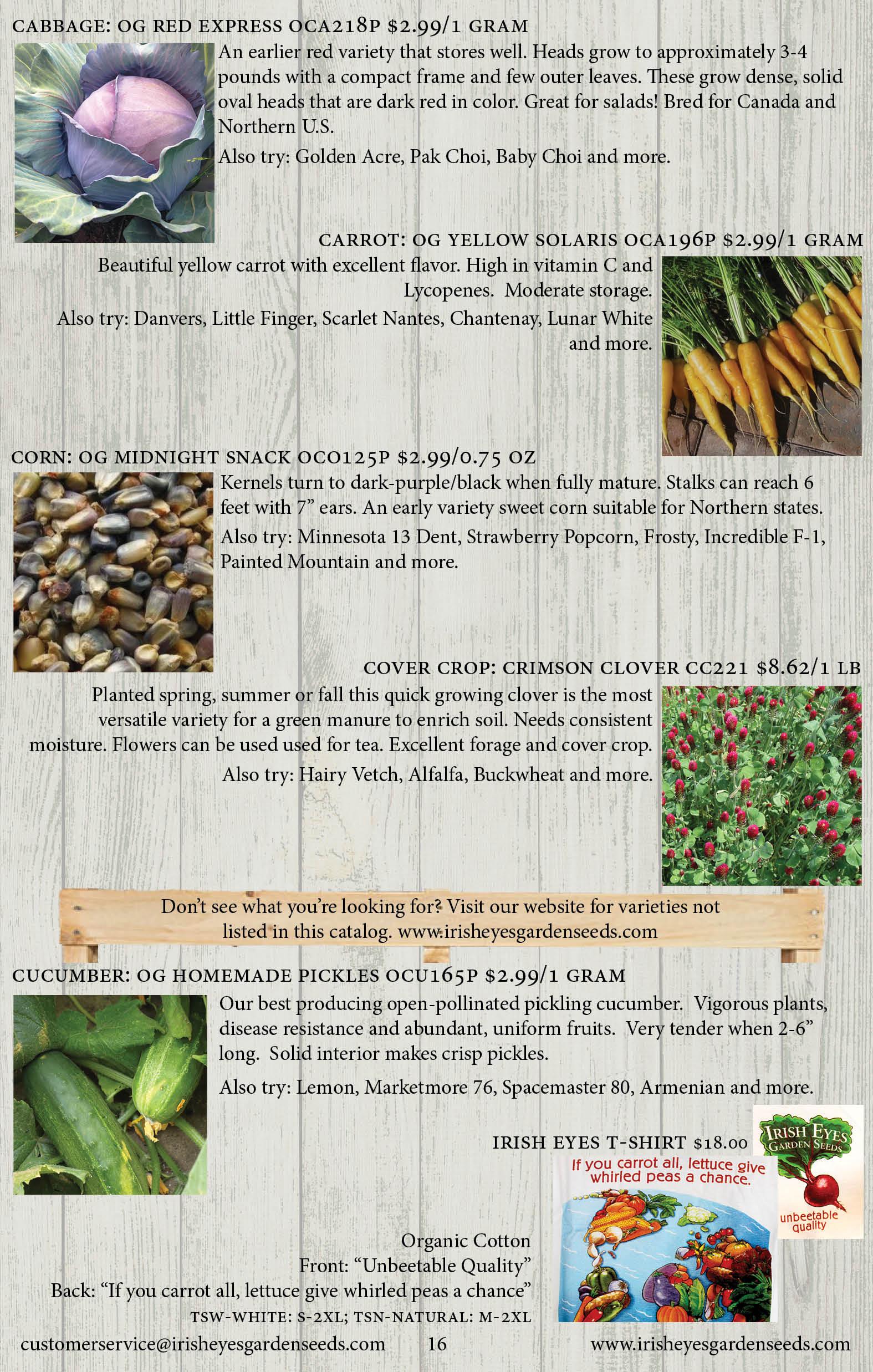 Page16 - Irish Eyes Garden Seeds