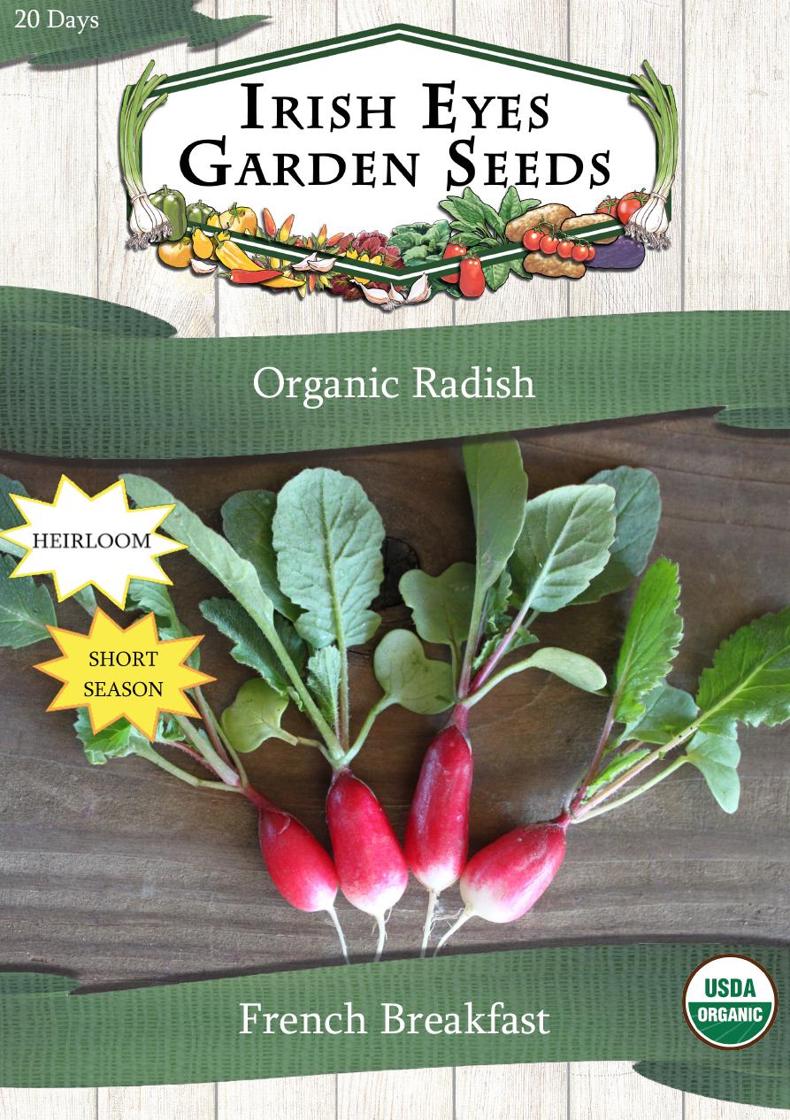 OG French Breakfast - Irish Eyes Garden Seeds